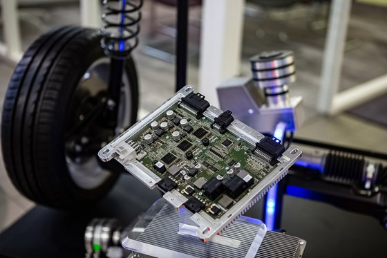 The Space Drive controller provides triple redundancy and the possibility of autonomous drive systems.