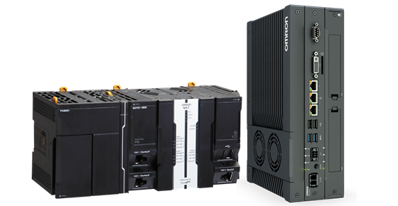 The Sysmac AI controller's hardware is based on the Sysmac NY5 IPC and the NX7 CPU and includes Omron's AI Application Components, a library of AI predictive maintenance function blocks. Several additional AI-specific utilities are also included.