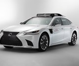 The Toyota Research Institute's P4, its latest test vehicle for its Guardian and Chauffer systems development.