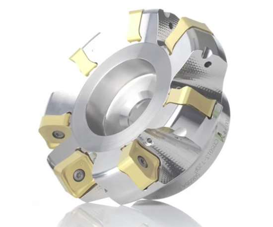 Seco Double Quattromill14 face milling cutter