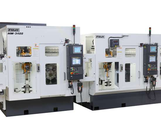 Fuji's Automated Mill/Lathe Cell