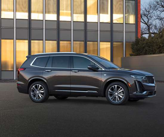 """The 2020 XT6. Says Andrew Smith, """"To do the XT6 as a mini-Escalade wouldn't make any sense because no one wants a mini anything."""" (Photo: Cadillac)"""