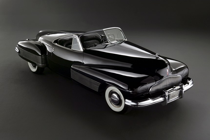The legendary Buick Y-job. It became Earl's daily-driver. (Photo: GM)