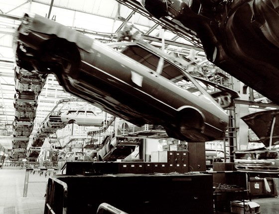 Production of the Passat in the Emden plant back in 1978. The Emden production facility is where the 30-millionth Passat was produced last month.
