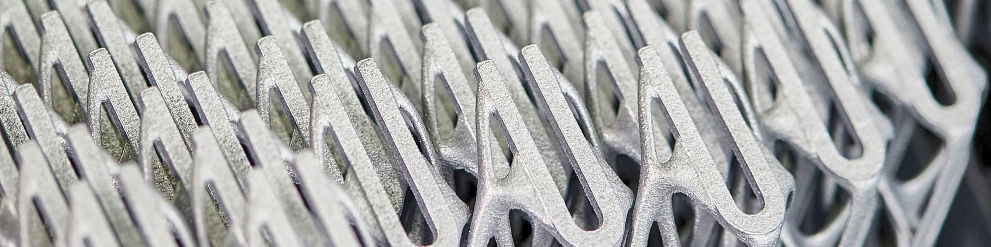 Additive series production at BMW Group, the coordinating organization of the IDAM project, which will leverage automation and Industrial Internet of Things technology to improve metal additive production throughput.