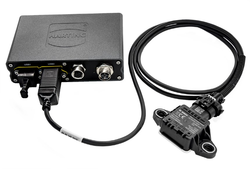 Bosch's and Harting's plug-and-play kit enables digital condition monitoring of any kind of machinery or equipment.