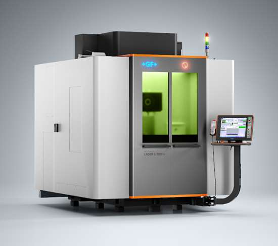 AgieCharmilles Laser S model 1000 U. The innovations in the series cut cycle times by 30 to 50 percent.