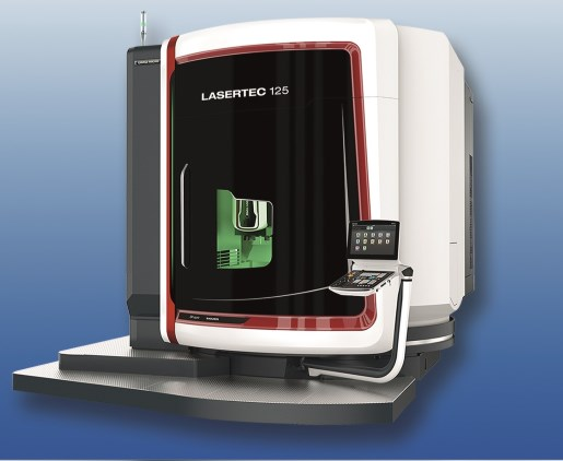 The innovations of the eVerest system are incorporated into a DMG Mori Lasertec 125.