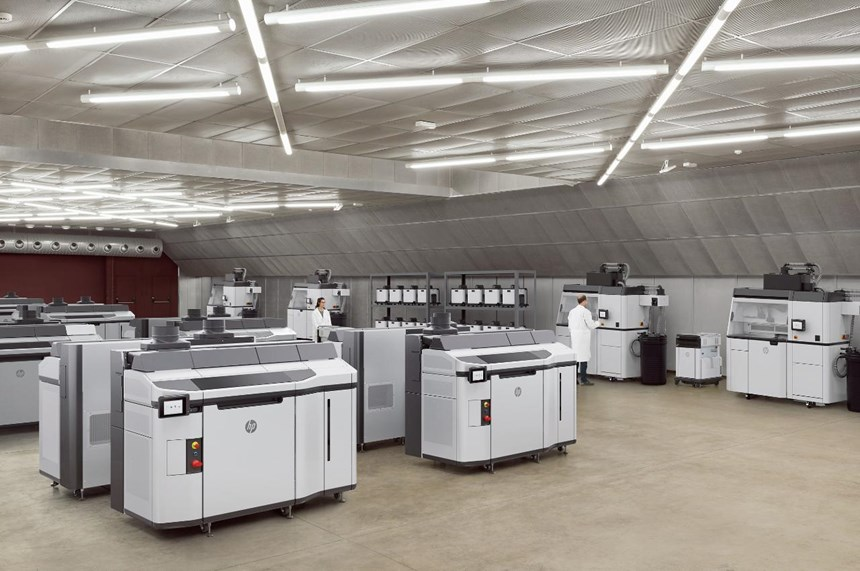 As HP is a manufacturer itself of mass-produced items, its manufacturing engineers have a good idea of what's needed. That input went into the development of the company's new Jet Fusion 5200 3D printing system, which is engineered to meet the challenges of production operations. (Image: HP)