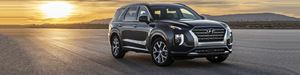 The Hyundai Palisade features a striking exterior design that is in one sense characteristic of Hyundai design in that it has a bold execution yet doesn't look like a larger version of something that's already in the lineup.