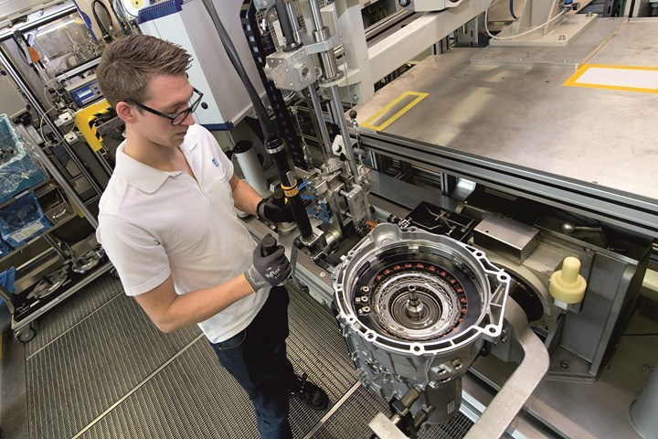 ZF will be producing the 8HP transmission in three facilities on three continents: in Germany, the U.S. and China. (Image: ZF)