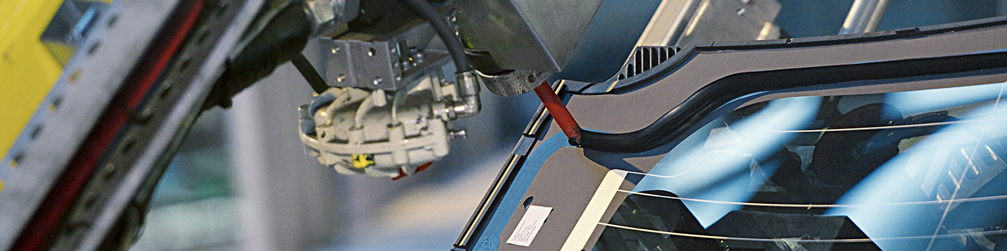 Polyurethane-based adhesive for fixed glass bonding