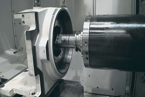 Okuma MA600HII horizontal machining center.