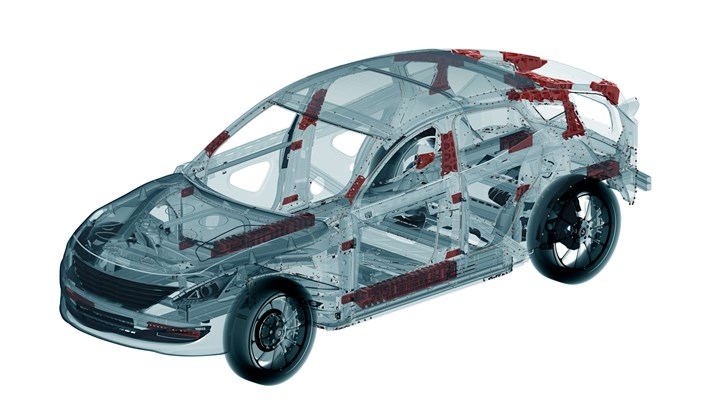 Performance-improvement opportunities for adhesives are replete throughout vehicle design. (Image courtesy The Mobility Alliance)