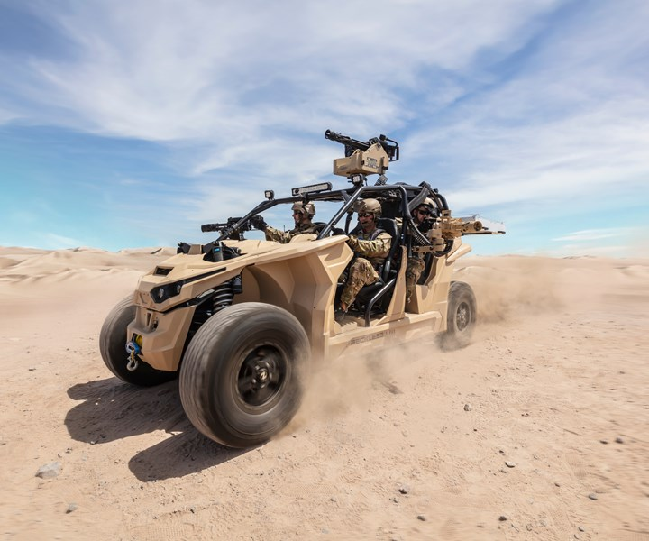 "With the help of a military grant, Nikola Powersports is working to power the ""Reckless"" military grade with hydrogen fuel cell propulsion."