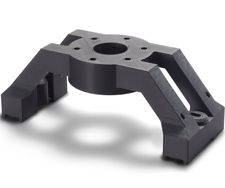 Diran is a new nylon-based material created by Stratasys for tooling applications.