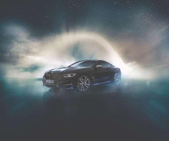 The BMW Individual M850i Night Sky.