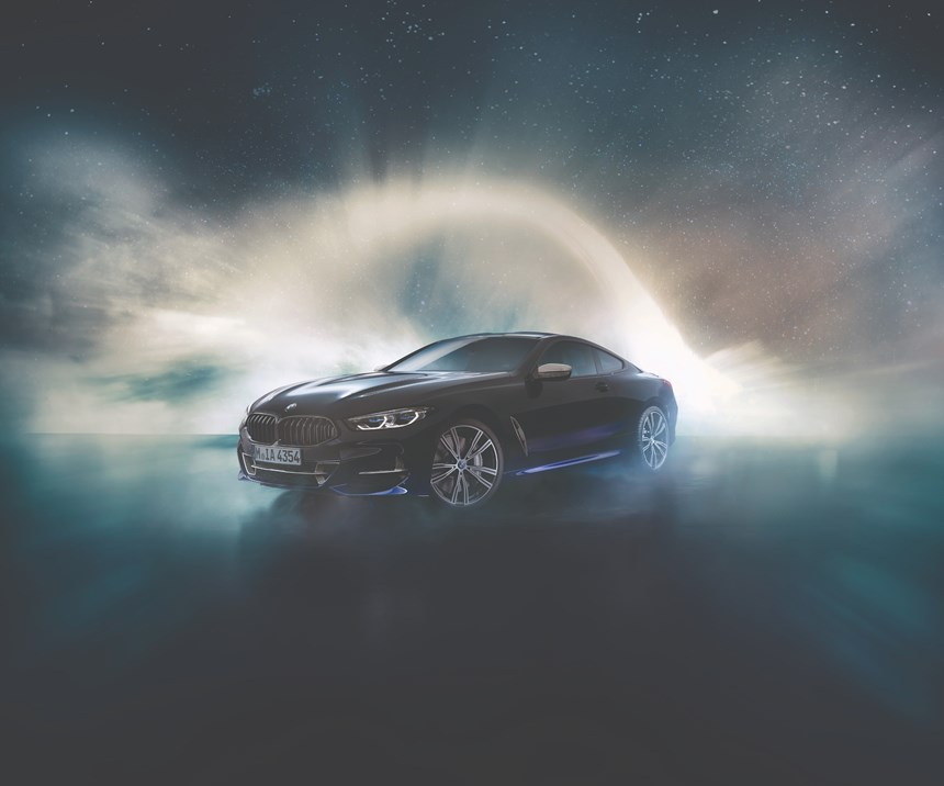 The BMW Individual M850i Night Sky.
