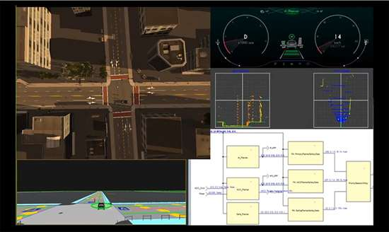 ANSYS VREXPERIENCE provides the closed-loop simulation of driving using reduced-order models derived from physics-based simulations (i.e., virtualized) of sensors. This way, automotive engineers can see different aspects of performance in driving the autonomous vehicles, as well as test and certify vehicle operation before actually releasing them as products.