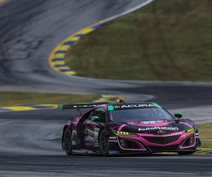 Acura IMSA race car