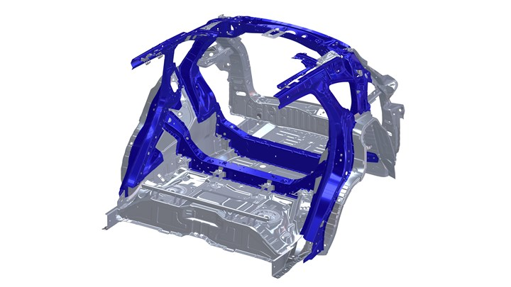 Acura RDX structure
