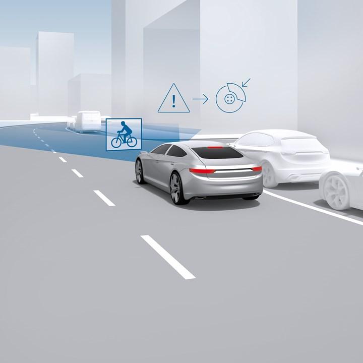 Bosch automatic emergency braking