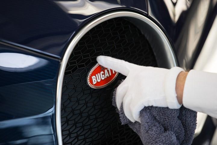 Bugatti badge