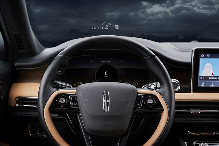 2020 Lincoln Corsair steering wheel