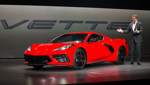 Designs Through Time and the C8 Corvette image