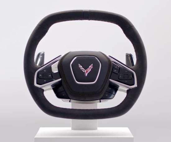 Corvette steering wheel