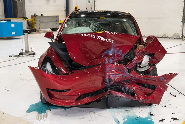 Crash Tests in Europe and the Tesla Model 3 image
