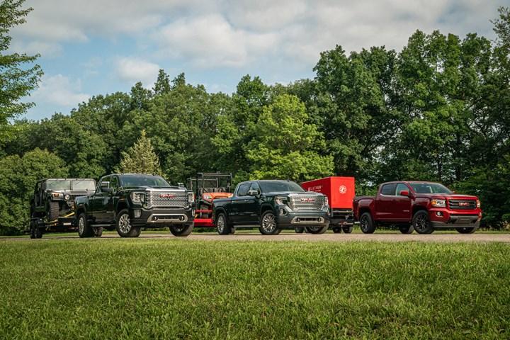 GMC diesel trucks