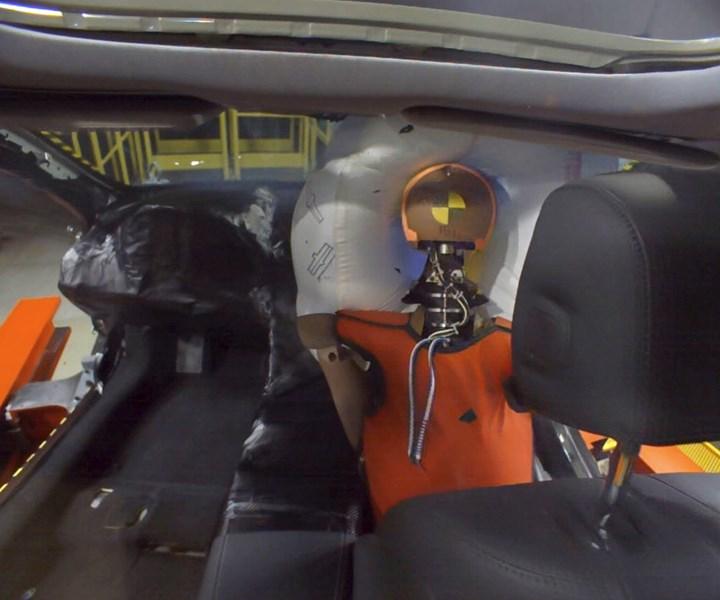 Honda crash test