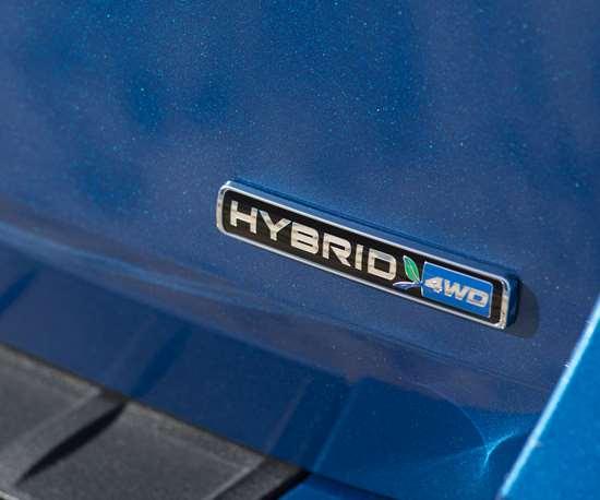 Ford Hybrid logo