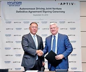 Hyundai and Aptiv Going for Levels 4 and 5