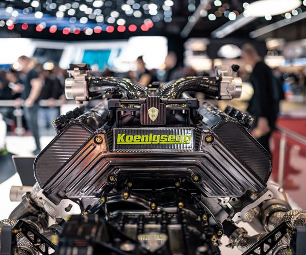 The Koenigsegg Jesko Has An Amazing Engine image