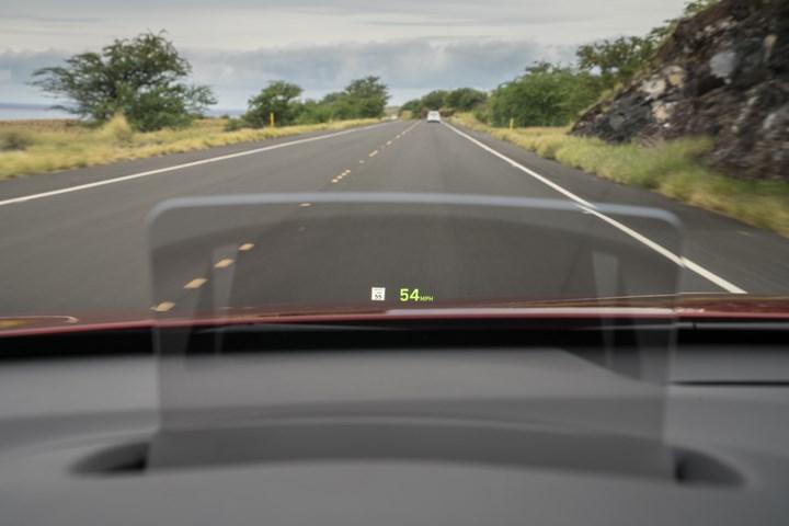 Hyundai Kona heads up display
