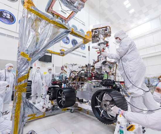 Building the Mars Rover