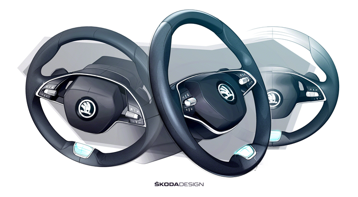 Octavia steering wheel