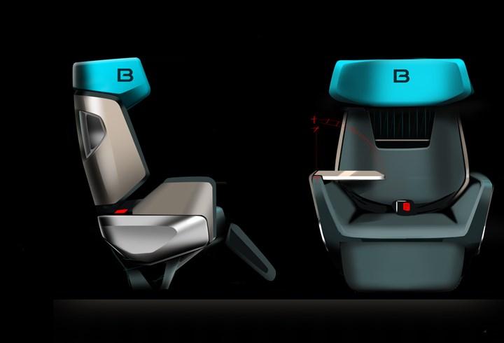 Peugeot Design seats