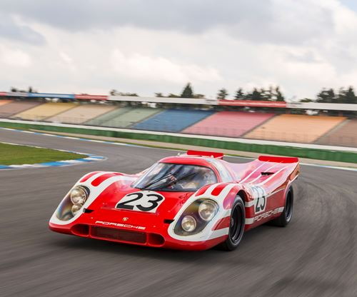 Porsche versus Ferrari in 1970 Retold