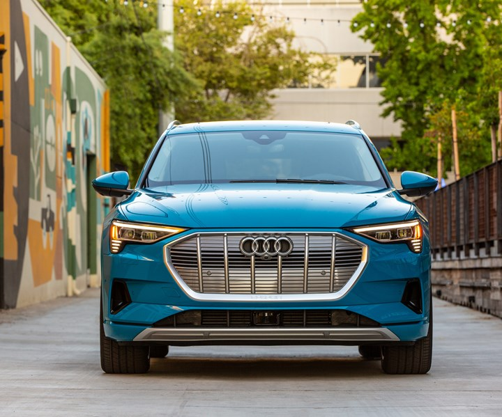Audi e-tron Is Electric and Safe