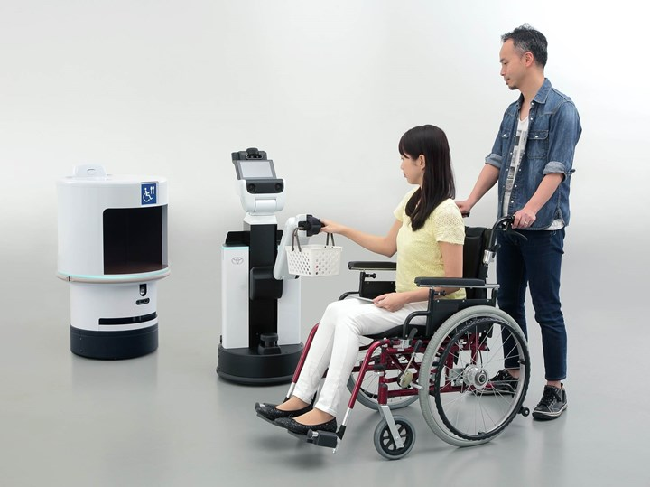Toyota robotic devices