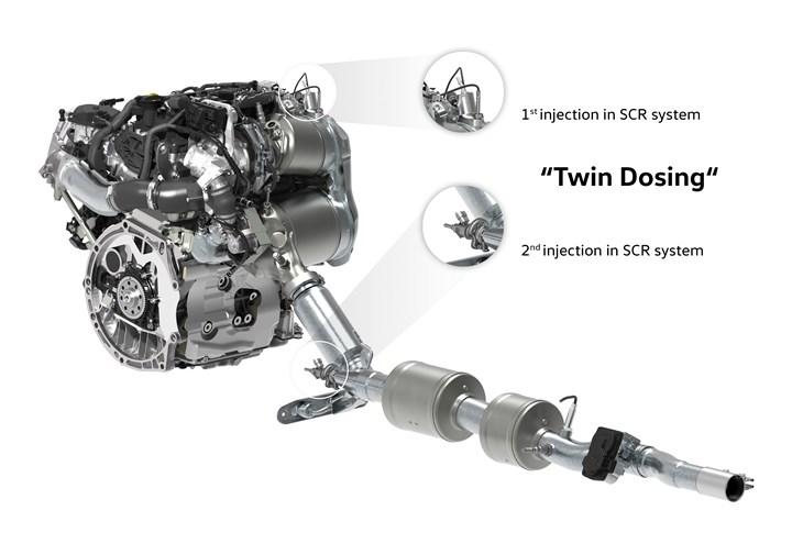 Volkswagen SCR system