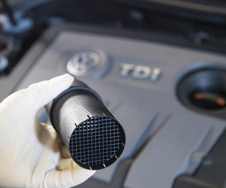 Volkswagen diesel filter
