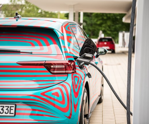 VW Putting Chargers in Factory Parking Lots