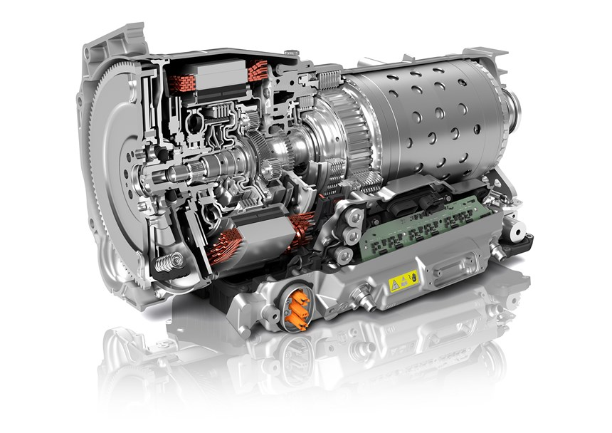 Inside the new ZF eight-speed that is specifically designed and engineered for hybrid drives. (Image: ZF)