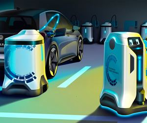 VW's Mobile Charging Robot Concept image