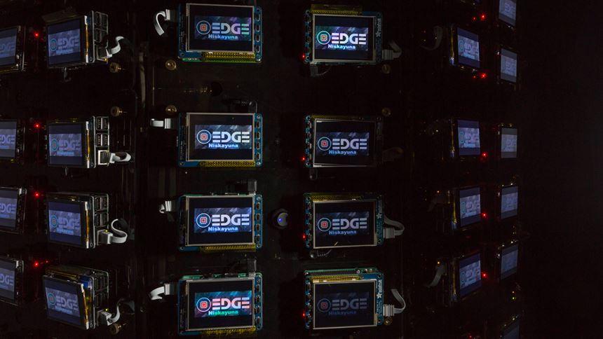 Raspberry Pi machines at GE run by Predix Edge