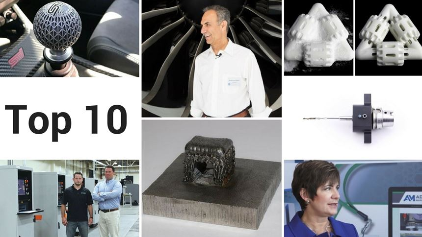 Images from the 2017 Additive Manufacturing stories with the most page views